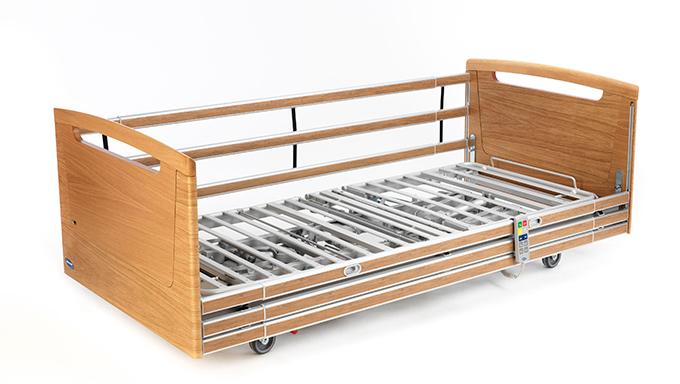 invacare, seng, regulerbar, nordbed, nordbed optimo, bruker, vennlig