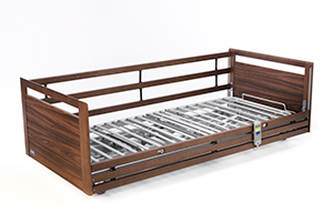 invacare, nordbed, seng, regulerbar seng, komfort, brukere, tilbehør
