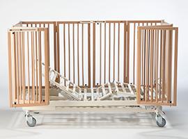 invacare, nordbed, seng, regulerbar seng, komfort, brukere, barne seng, barn